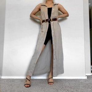 Vintage Maxi Vest/Dress